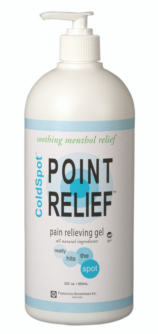 Point Relief ColdSpot Lotion - Gel Pump- 32 oz