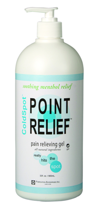 Point Relief ColdSpot Lotion - Gel Pump - 32 oz, 16 each