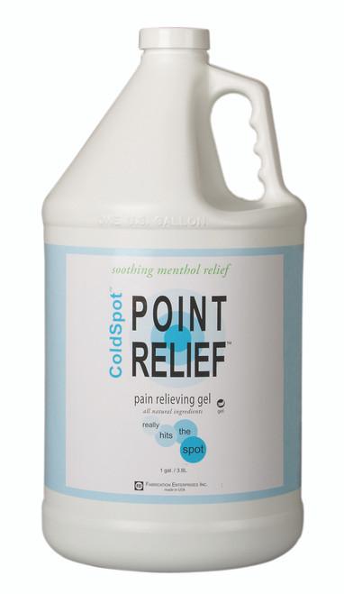 Point Relief ColdSpot Lotion - Gel Pump- 128 oz / 1 gallon