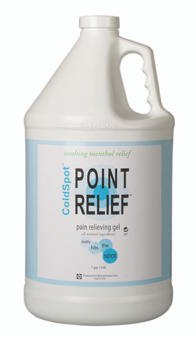 Point Relief ColdSpot Lotion - Gel Pump - 128 oz / 1 gallon, 4 each