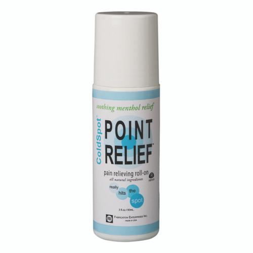 Point Relief ColdSpot Lotion - Roll-on Bottle - 3 oz, 12 each