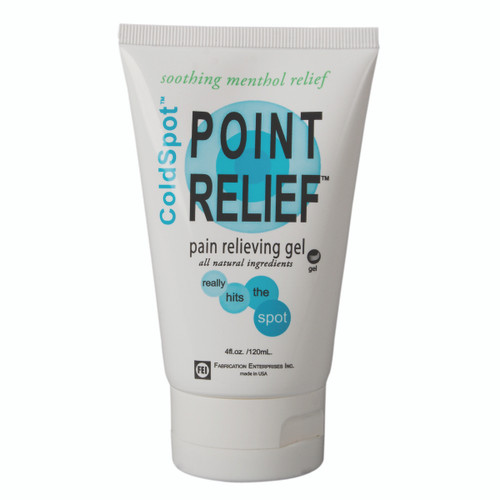 Point Relief ColdSpot Lotion - Gel Tube - 4 oz, 12 each