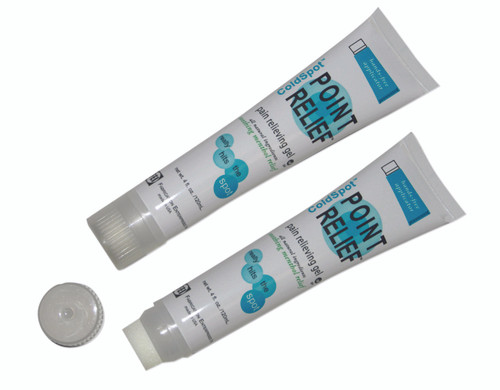 Point Relief ColdSpot Lotion - Gel Hands-Free Applicator Tube - 4 oz, 144 each