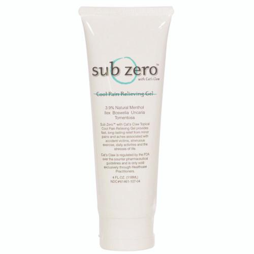 Sub Zero Gel - 4 oz tube, case of 12