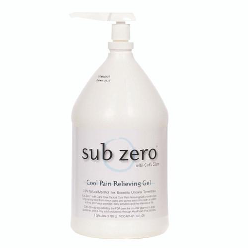 Sub Zero Gel - 1 gallon bottle, case of 4