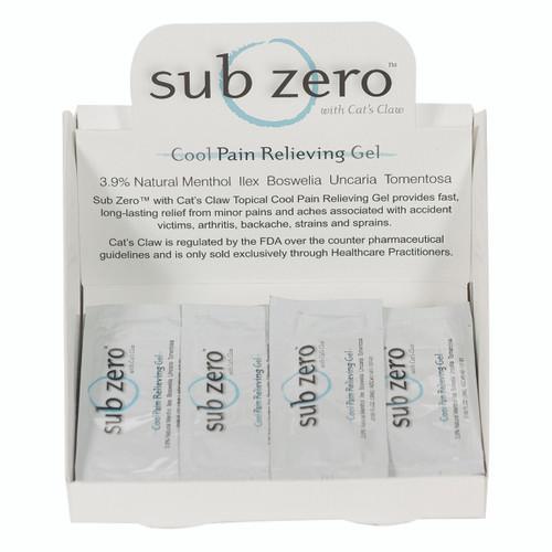 Sub Zero Gel - 5mL pack, 100-piece Box, case of 10