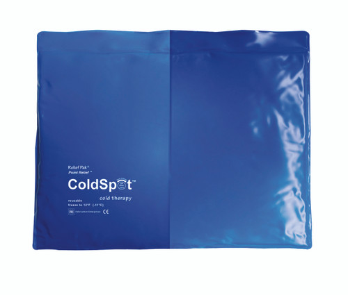 "Relief Pak ColdSpot Blue Vinyl Pack - standard - 11"" x 14"""