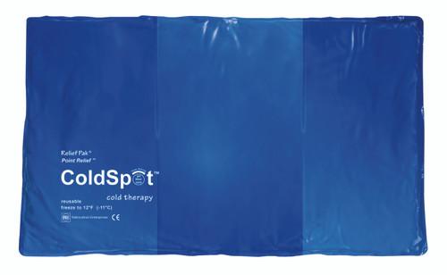 "Relief Pak ColdSpot Blue Vinyl Pack - oversize - 11"" x 21"""