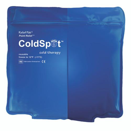 """Relief Pak ColdSpot Blue Vinyl Pack - quarter size - 5"""" x 7"""""""