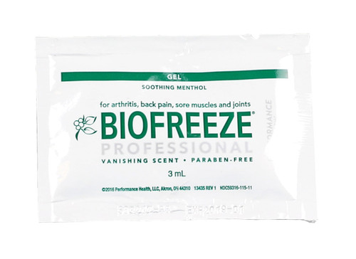 BioFreeze Professional Lotion - 5 gram packets, 1 each