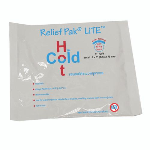 "Relief Pak Val-u Pak LiTE Cold n' Hot Pack - 5"" x 6"" - Each"
