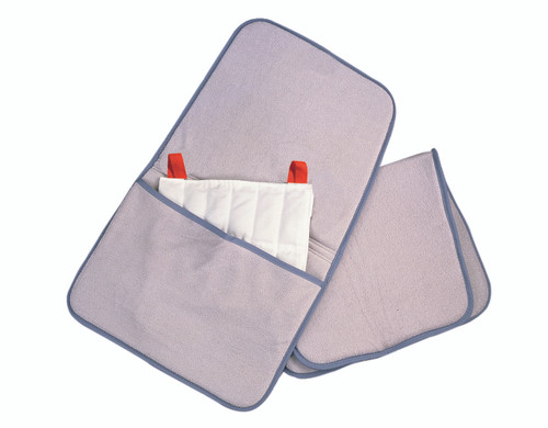 """Relief Pak¨ HotSpot¨ Moist Heat Pack Cover - Terry with Foam-Fill - oversize with pocket - 24.5"""" x 36"""" - Case of 12"""