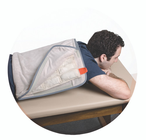 """Relief Pak¨ HotSpot¨ Moist Heat Pack Cover - All-Terry Microfiber - oversize - 24.5"""" x 36"""" - Case of 12"""