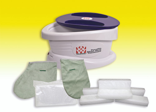 WaxWel¨ Paraffin Bath - Standard Unit Includes: 100 Liners, 1 Mitt, 1 Bootie and 6 lb Citrus Paraffin