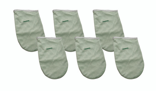 WaxWel¨ Paraffin Bath - Accessory Package - 6 Terry Hand Mitts ONLY