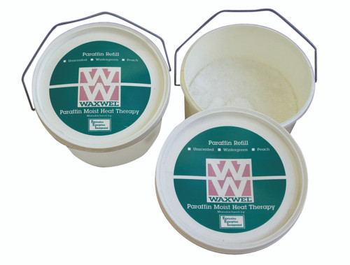 WaxWel¨ Paraffin - 1 x 3-lb Tub of Pastilles - Peach Fragrance