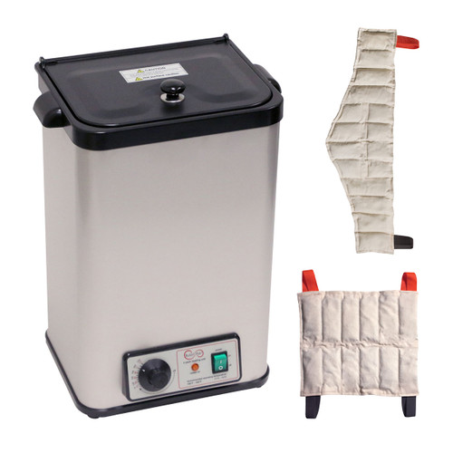 Relief Pak¨ Heating Unit, 4-Pack Capacity, Stationary with (2) Standard and (2) Neck Packs, 220V