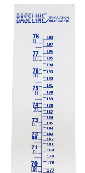 Baseline¨ Wall Growth Chart