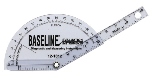 Baseline¨ Plastic Goniometer - Finger - Flexion to Hyper-Extension