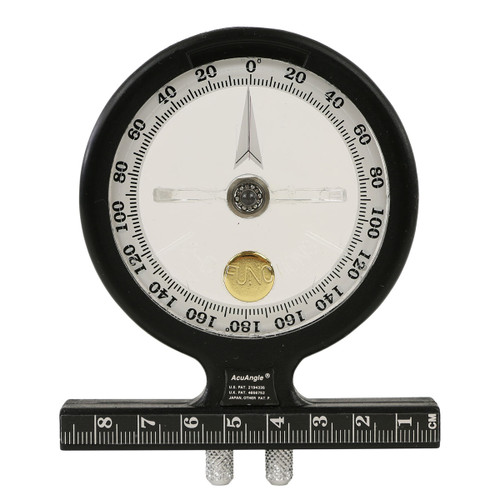 Baseline¨ AcuAngle¨ Adjustable-Feet inclinometer, 2-piece Set