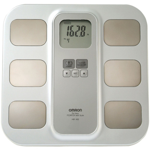 Omron¨ Scale - HBF-400 stand-on body composition scale