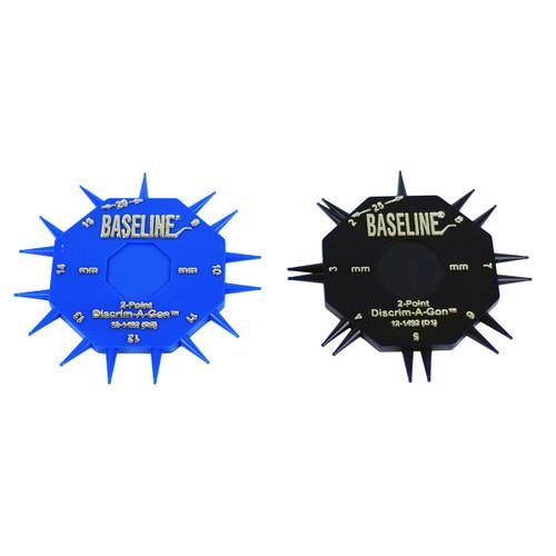 Discriminator Wheel - Baseline¨ 2-point Discrim-A-Gon¨ 2 Disk Set, 25-pack