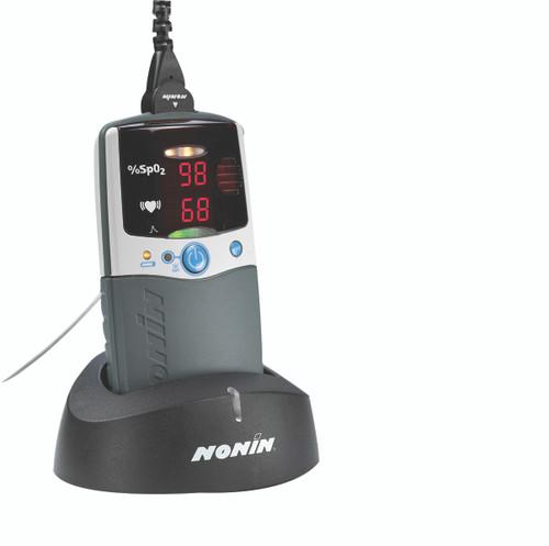 Nonin¨ Pulse Oximeter - Fingertip with Handheld Monitor - PalmSAT 2500