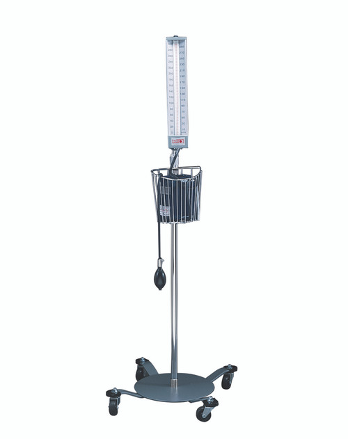 Sphygmomanometer - Mobile Floor - Aneroid Type with Adult Cuff