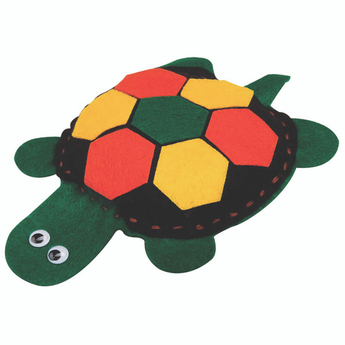 Allen Diagnostic Module Felt Turtle, Pack of 6