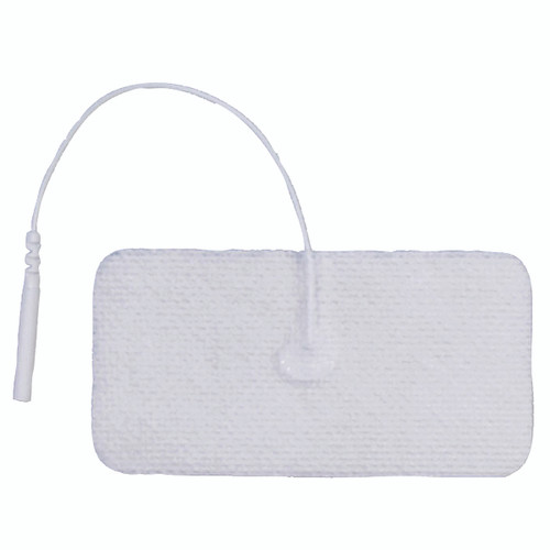"AdvanTrode¨ Essential Electrode, 1.75"" x 3.75"" rectangle, white, 40/box"