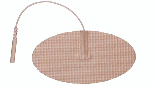 "AdvanTrode¨ Elite Electrode, 2""x4"" oval, tan tricot, 40/box"