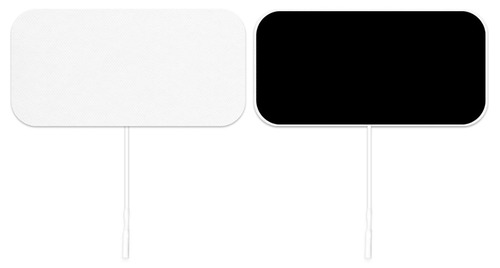 "ValuTrode¨ X, white cloth, 2"" x 4"" rectangle, 40/case"
