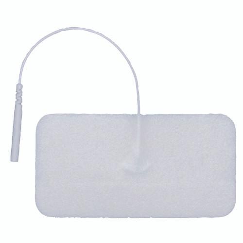 """AdvanTrode¨ Elite Electrode, 1.75""""x3.75"""" rectangle, white foam, 40/box"""