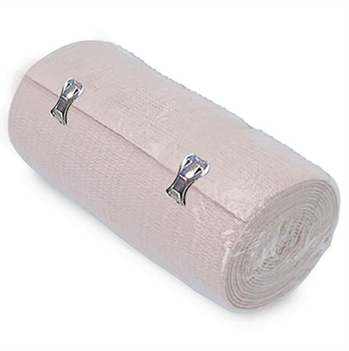 """Ossur Elastic Bandage 6"""" Metal Tab - 10 per pack"""