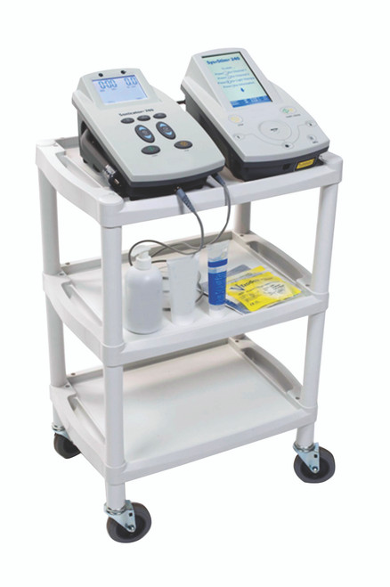 Mettler¨ 73 plastic 3-shelf cart