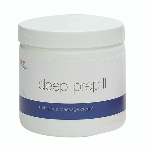Deep Prep¨ Massage Cream - II cream, 15 oz jar