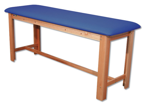 Classic H-Brace Exam Table Dark Blue