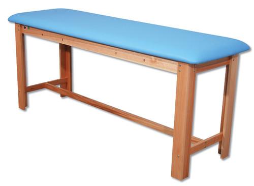 Classic H-Brace Exam Table Light Blue