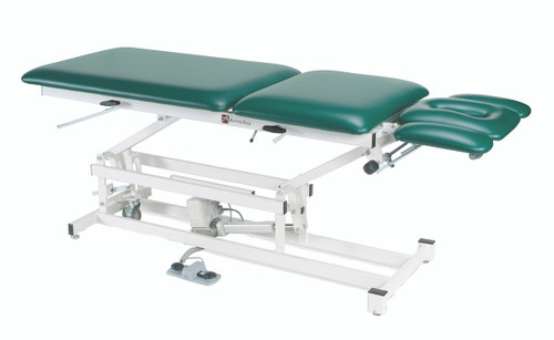 "treatment table - electric hi-low, 76"" L x 27"" W x 18"" - 37"" H, 5-section"