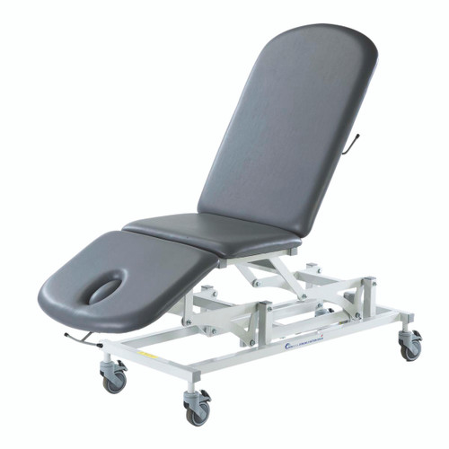"treatment table - electric hi-low, sterling table, 78"" L x 28""W x 18"" - 39"" H, 3-section, castors"