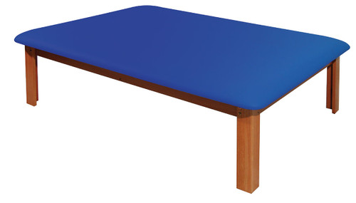 Mat Platform Table 4 1/2 x 6 ft. Dark Blue