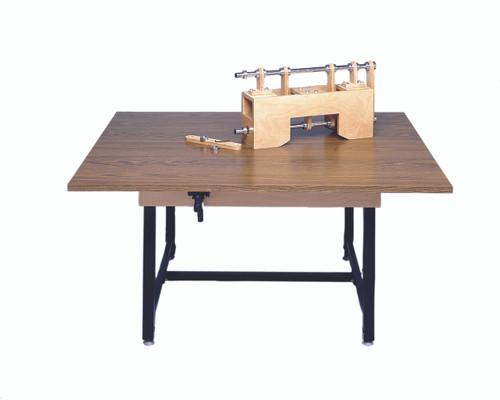 "Work Table, rectangular, manual Hi-Low, 60"" L x 48"" W x 28"" - 35.5"" H"