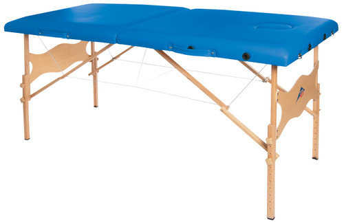 "Basic portable massage table, 78"" L x 32"" W x 23"" - 33"" H"