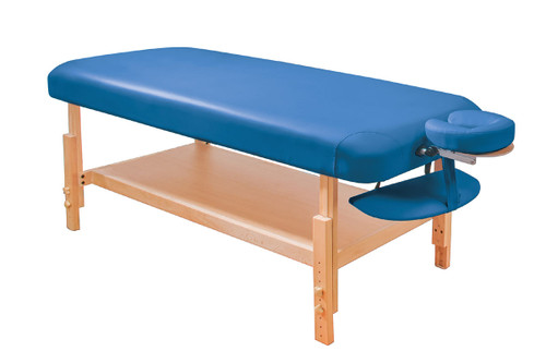 Basic Stationary Massage Table Blue