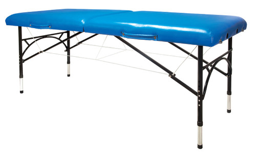 Aluminum Massage Table Blue