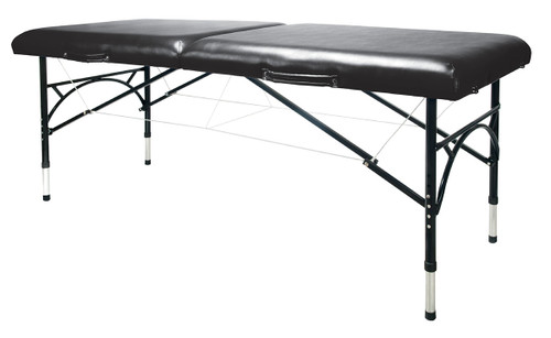 Aluminum Massage Table Black