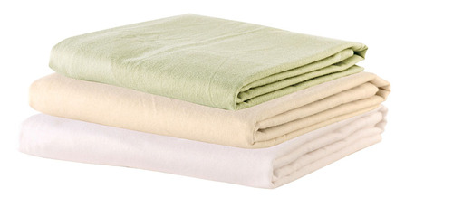 "Flat Sheet - 63""W x 100""L - Cotton Flannel - Tan"