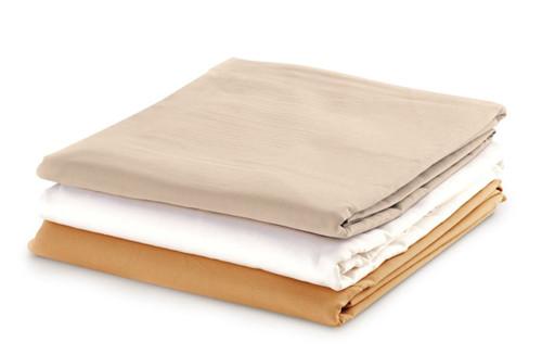 "Flat Sheet - 63""W x 100""L - Cotton Polyester - Java"