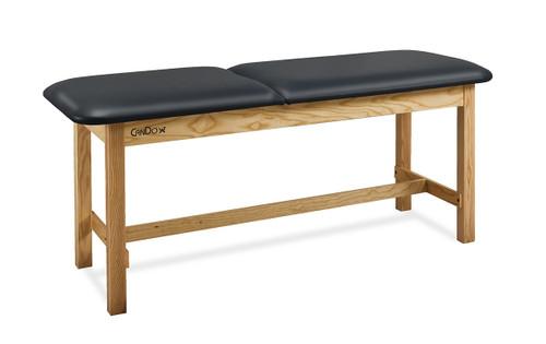 "CanDo¨ Treatment Table w/ Adjustable Back, 400 LB Capacity, 72""L x 27""W x 31""H"