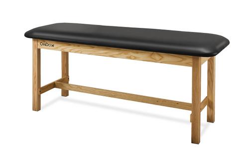 "CanDo¨ Treatment Table H-Brace w/Flat Top, 400 LB Capacity, 72""L x 30""W x 31""H"